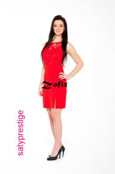 3ef754b8ba2d Spoločenské šaty krátke zofix