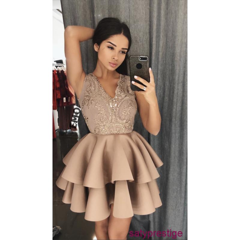 Spoločenské šaty - krátke  ae94bd71dd8