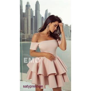 54b43675a7e7 Spoločenské šaty krátke Emo Doda